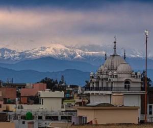 Үндістан тұрғындары 30 жылда алғаш рет Гималай шыңын көрді
