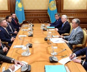 Президент Казахстана Касым-Жомарт Токаев принял членов Палаты представителей Конгресса США