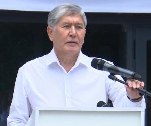 Задержание бывшего президента Кыргызстана А. Атамбаева.