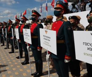 Халықаралық Армия ойындарының ашылу рәсімі өтті