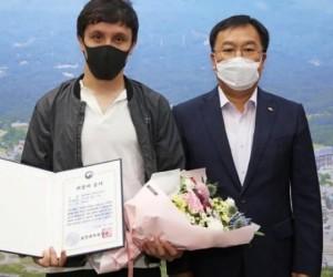 Кореяда Қазақстан азаматын марапаттады