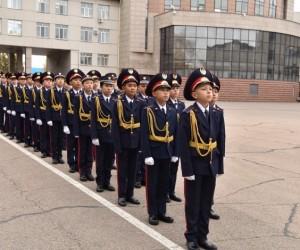 Мектепте ашылған кадет сыныбы оқушыларға оң нәтиже беруде