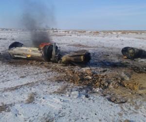 Железный обломок упал с неба в Актюбинской области