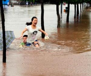 Наводнение в Китае: пострадало более 30 млн. жителей