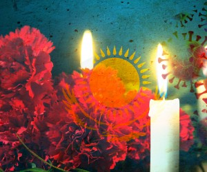 Год назад Казахстан скорбил по погибшим от коронавируса