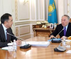 Елбасы мен Бақытжан Сағынтаев Алматы қаласының проблемаларын талқылады