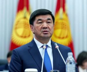 Қырғызстан премьер-министрі жемқорлыққа қатысты жанжалға байланысты отставкаға кетті