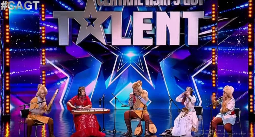 ХасСақ этно-фольклорлық ансамблі, Central Asia Got Talent байқауы,